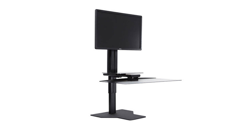Get a height-adjustable desk without overhauling your current workstation with the Uprite Ergo Sit2stand Workstation
