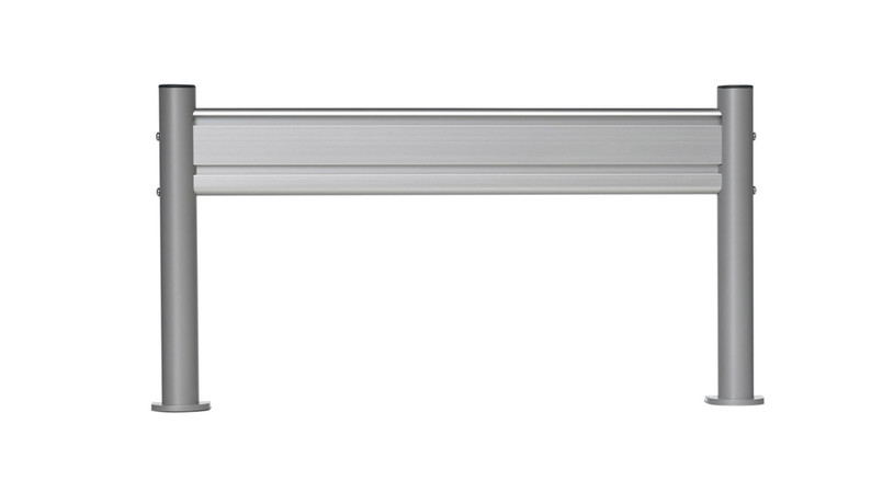 """SlatRail clamps directly to surfaces 1/2"""" to 1 3/4"""" thick"""