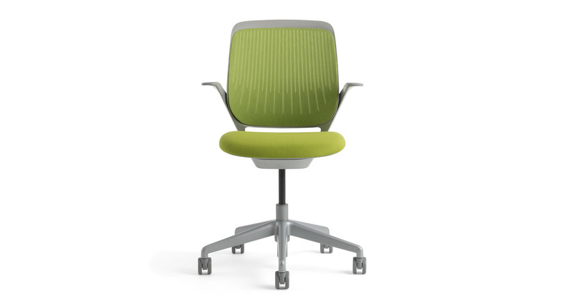 The Steelcase Cobi Chair is the minimalist ergonomic chair with a surprising amount of intuitive adjustments