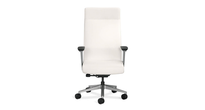 LiveBack technology changes the shape of the back of the chair to support your entire spine
