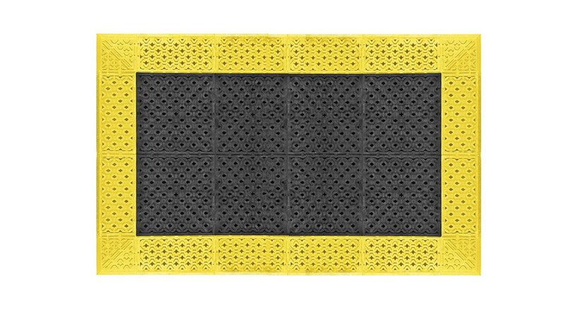 """7/8"""" thick, PVC based mat is extremely durable"""