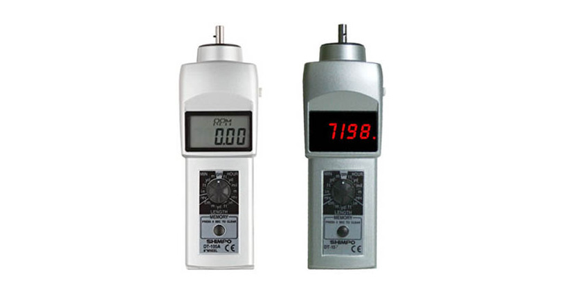 Shimpo Tachometer offers direct length measurement