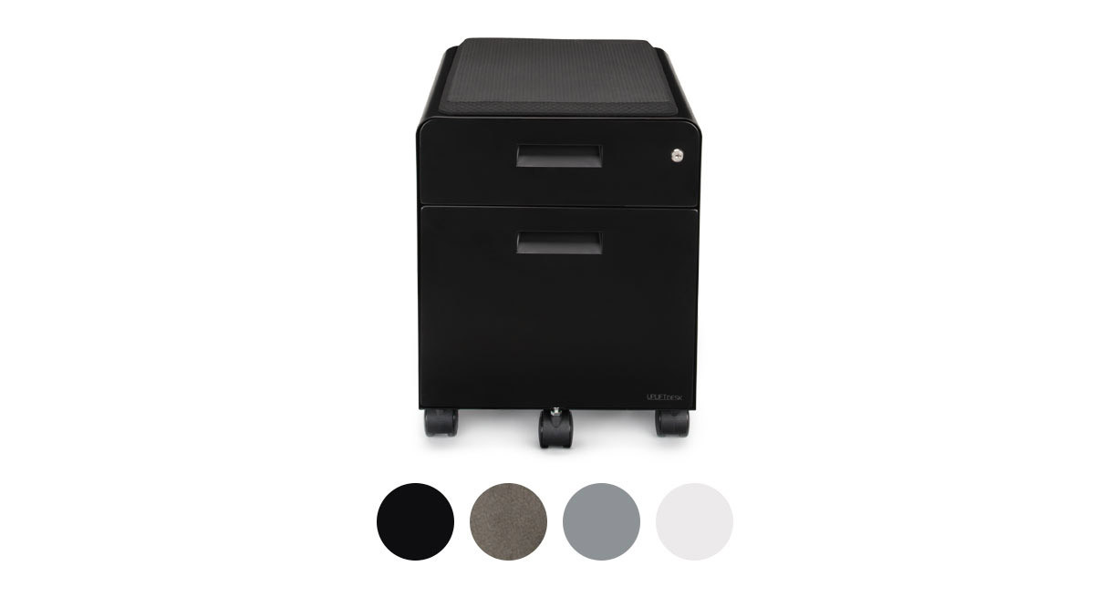 2 Drawer File Cabinet With Seat By Uplift Desk Human