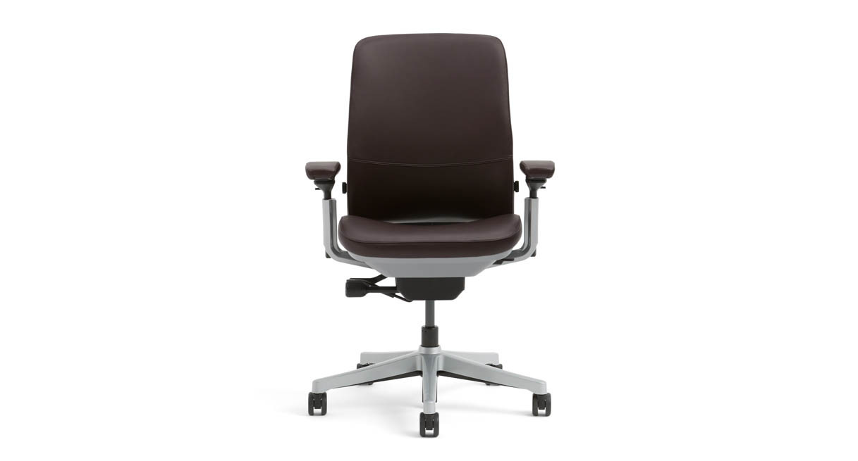 Steelcase Amia Chair in Sewn Leather