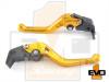 Aprilia DORSODURO 750 Shorty Brake & Clutch Levers - Gold