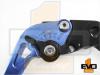 BMW K1200R Shorty Brake & Clutch Levers - Blue