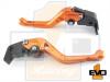 Aprilia DORSODURO 1200  Shorty Brake & Clutch Levers - Orange