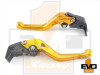 Aprilia DORSODURO 1200  Shorty Brake & Clutch Levers - Gold