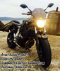 Yamaha MT-07 Radiator Guard Customer Testimonial & Picture supplied from customer Mick Lee