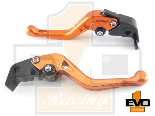 Aprilia RSV4 Factory / RSV4-R/RR Shorty Brake & Clutch Levers- Orange