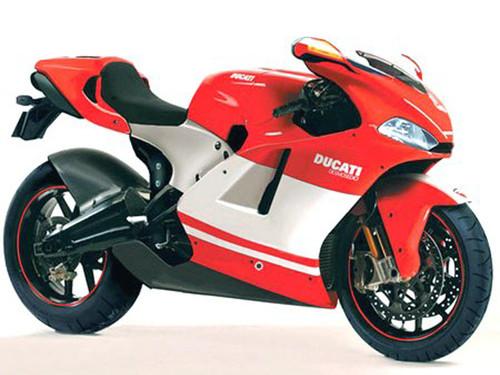 Ducati Desmosedici RR. Radiator & Oil Guard Set