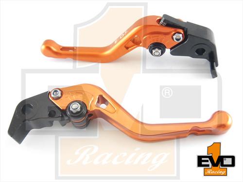 Aprilia CAPONORD / ETV1000 Shorty Brake & Clutch Levers - Orange