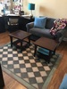 Pura Vida customer use of checkmate vinyl floor cloth