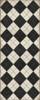 Pattern 65 High Fidelity - vinyl floor cloth