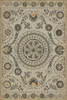 Pattern 38 Je Pense vinyl floor cloth