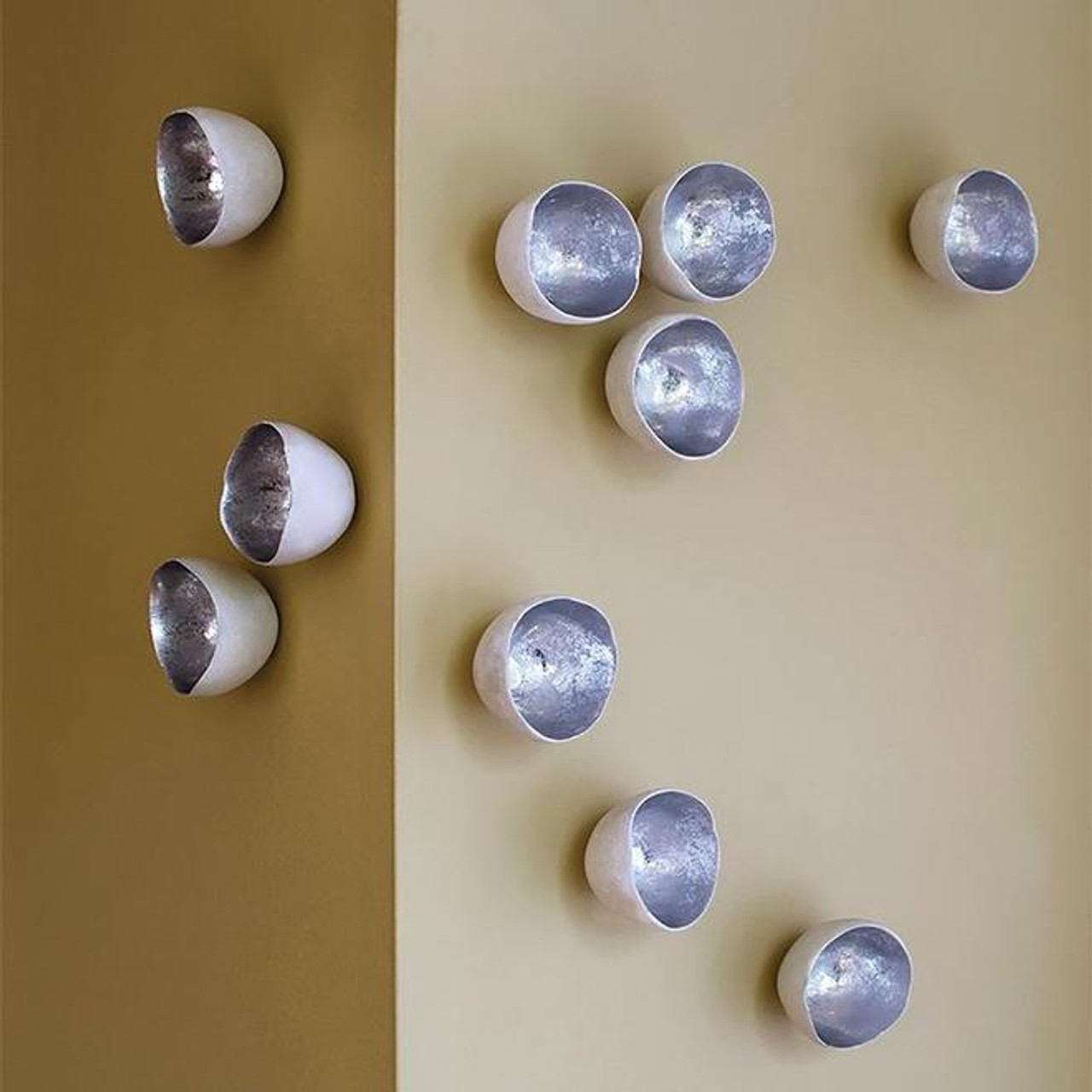 wall play silver seed set of 10