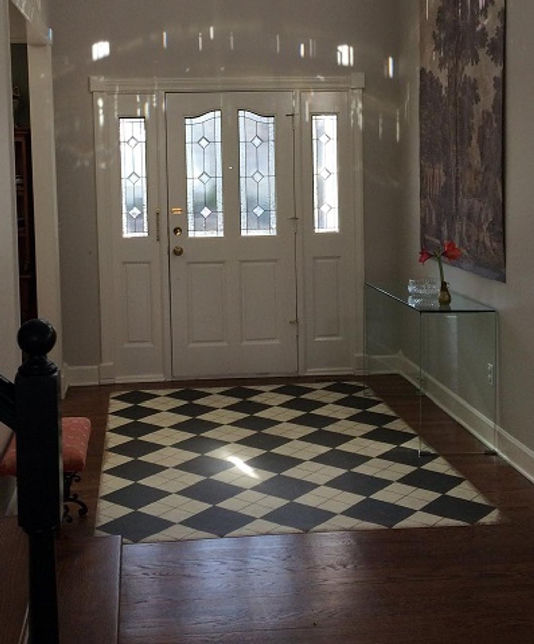 Pura Vida customer use of High Fidelity vinyl floor cloth