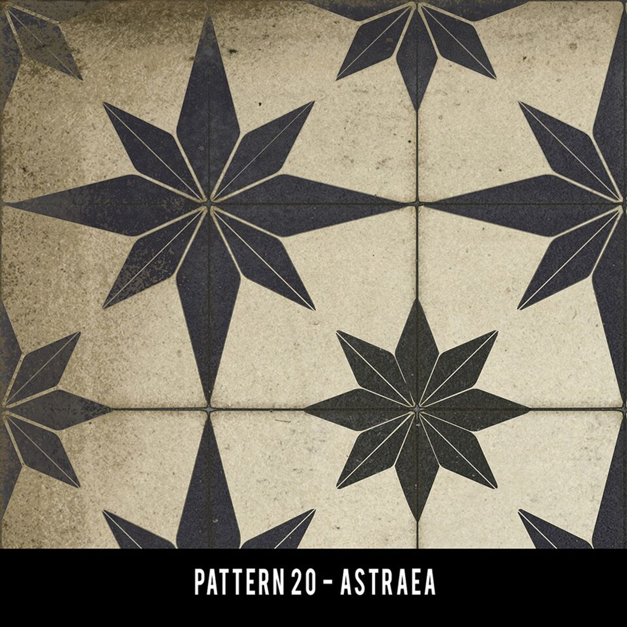 Swatches for Pattern 20 - vinyl floor cloths