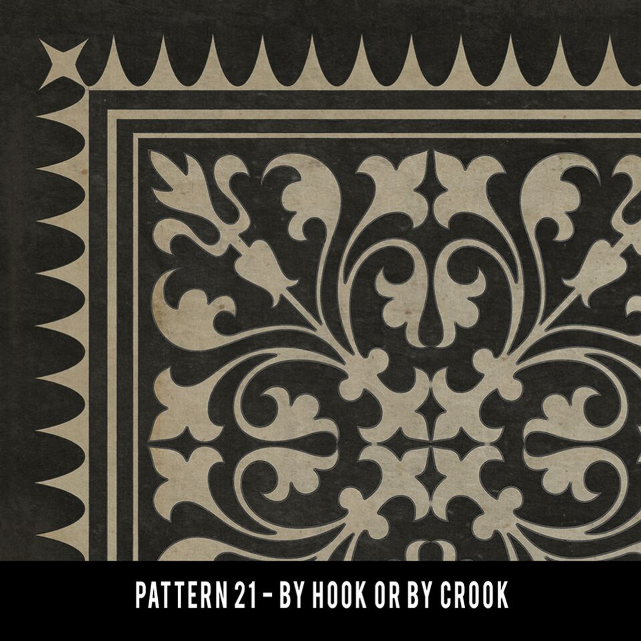Swatches for Pattern 21 - vinyl floor cloths