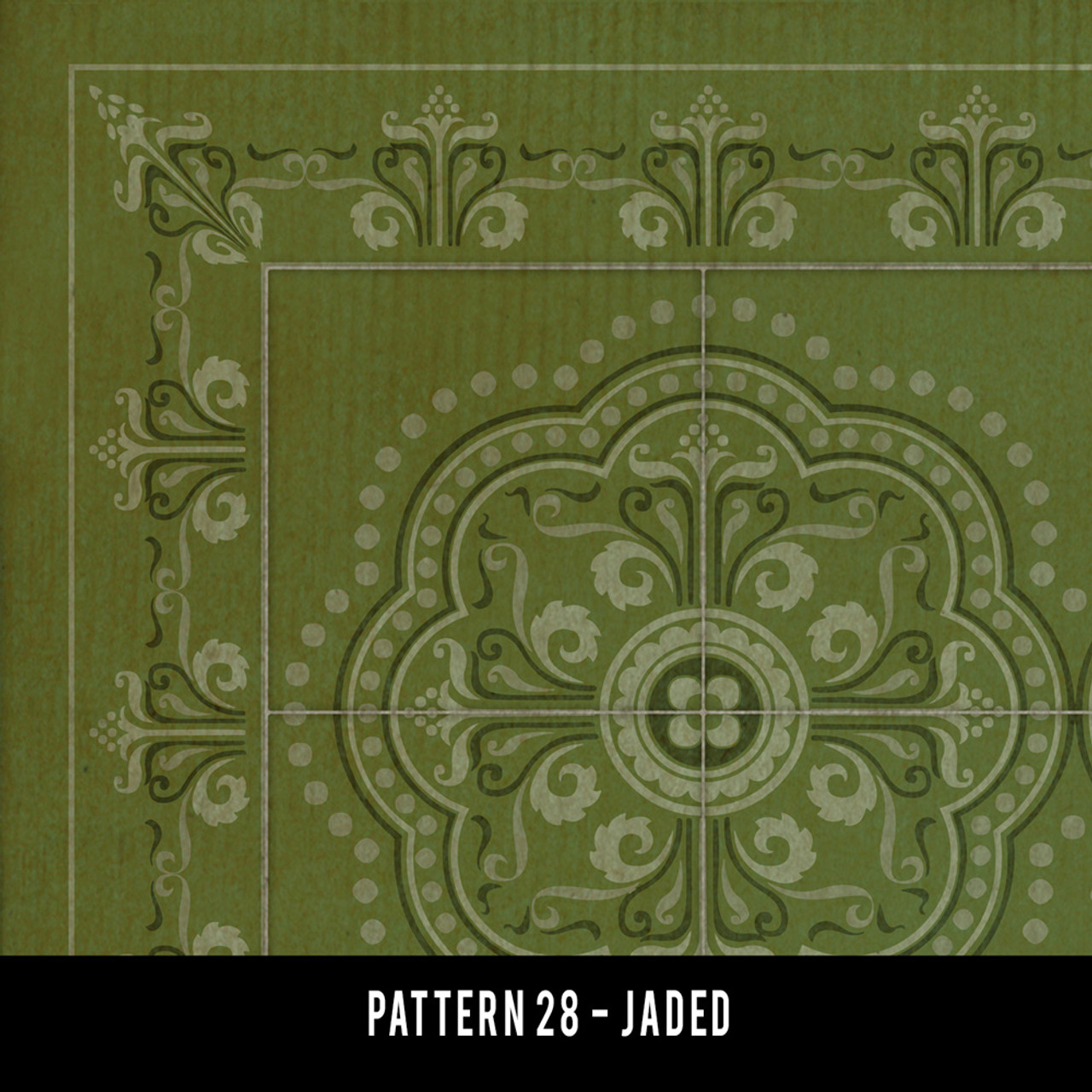 Swatches for Pattern 28 - vinyl floor cloths