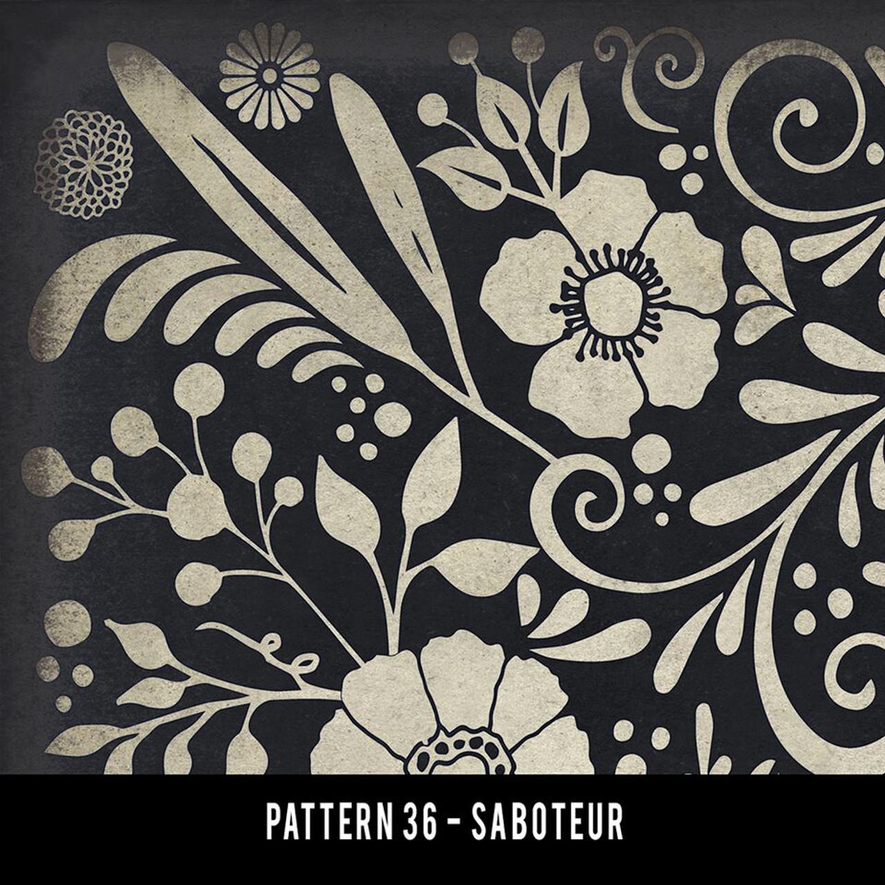 Swatches for Pattern 36 - vinyl floor cloths
