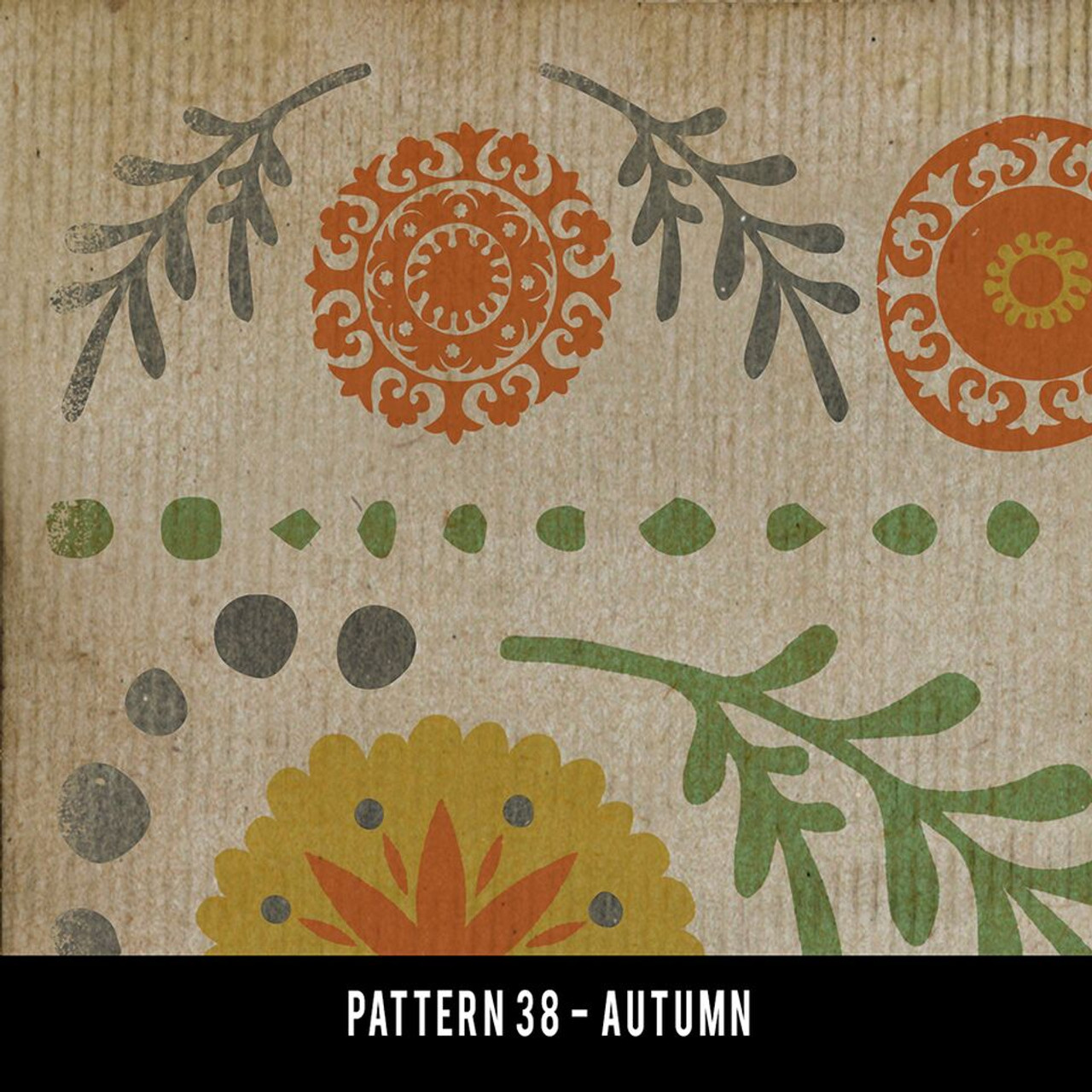 Swatches for Pattern 38 - vinyl floor cloths