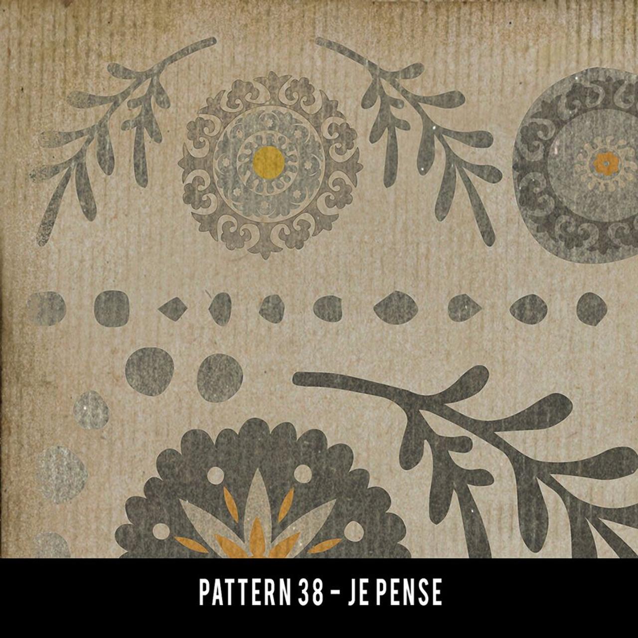 Swatches for Pattern 38 - vinyl floor cloths