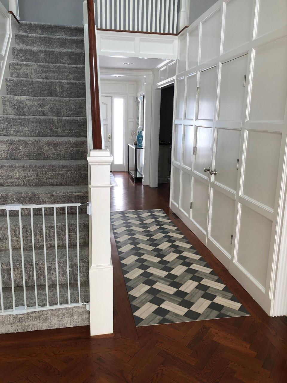 Woodson: Ashbee - vinyl floor cloth