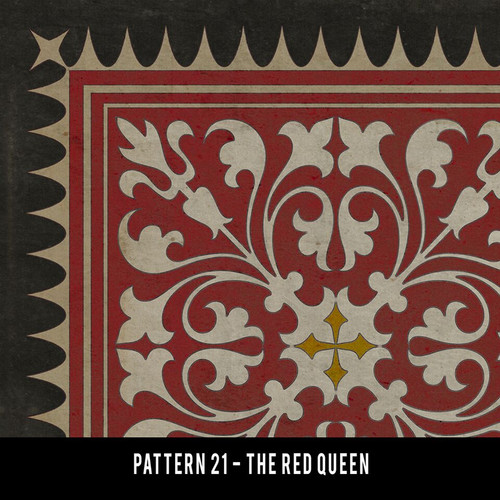 Pattern 21 The Red Queen QS 20x30