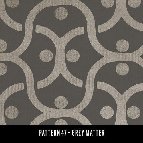 Pattern 47 Grey Matter QS 20x30