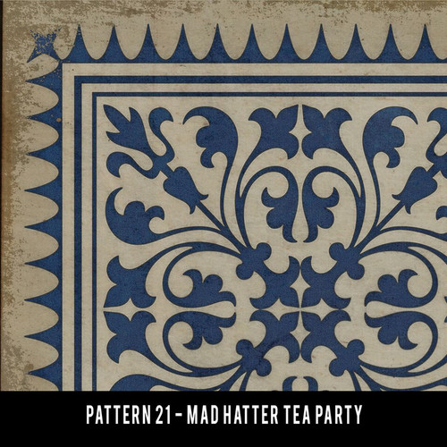 Pattern 21 Mad Hatter Tea Party swatch sample