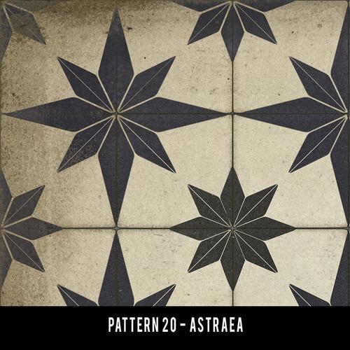 Pattern 20 Astraea swatch sample