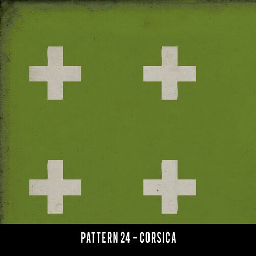 Swatches for Pattern 24 - vinyl floor cloths