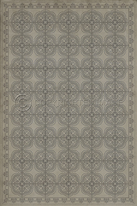 Pattern 28 Calm vinyl floor cloth