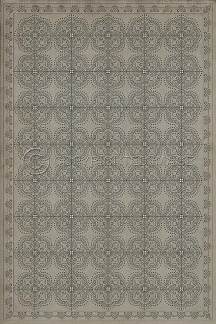 Pattern 28 Calm vinyl floor cloth