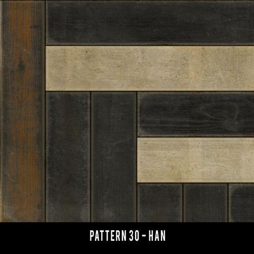 Swatches for Pattern 30 - vinyl floor cloths