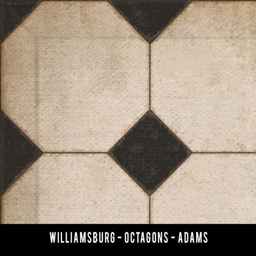 Swatches for Octagons - vinyl floor cloths