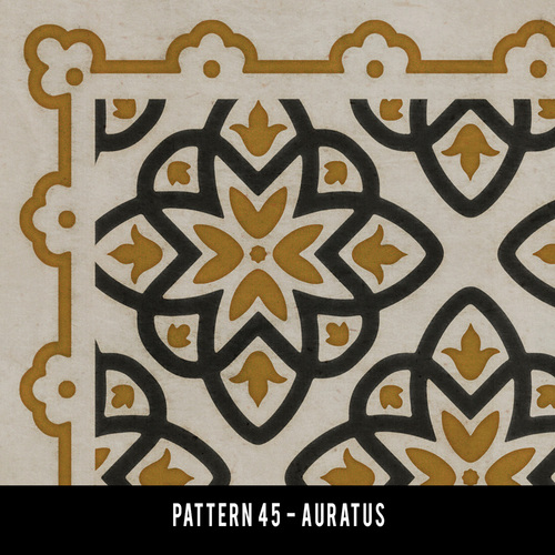 Swatches for Pattern 45 - vinyl floor cloths