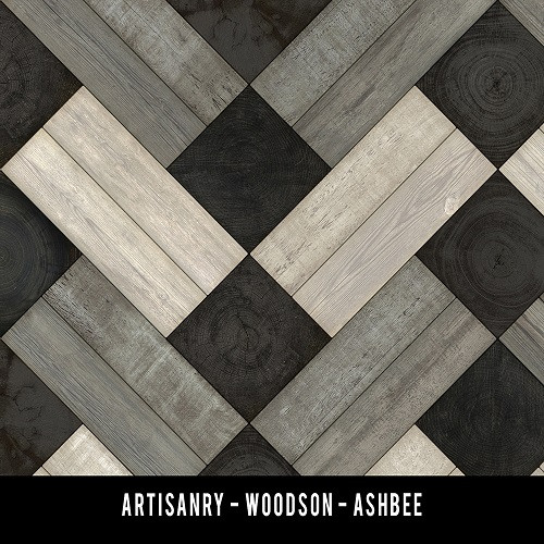 Swatches for Woodson - vinyl floor cloth