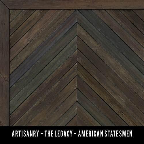 Swatches for The Legacy - vinyl floor cloth