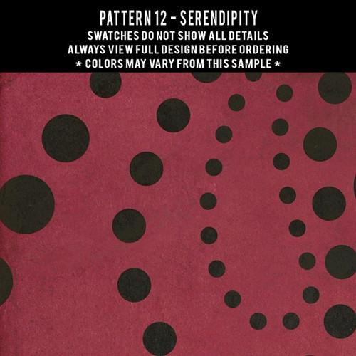 Pattern 12 Serendipity - vinyl floor cloth