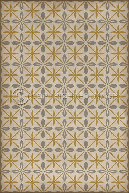 pattern 81 vinyl floor cloth