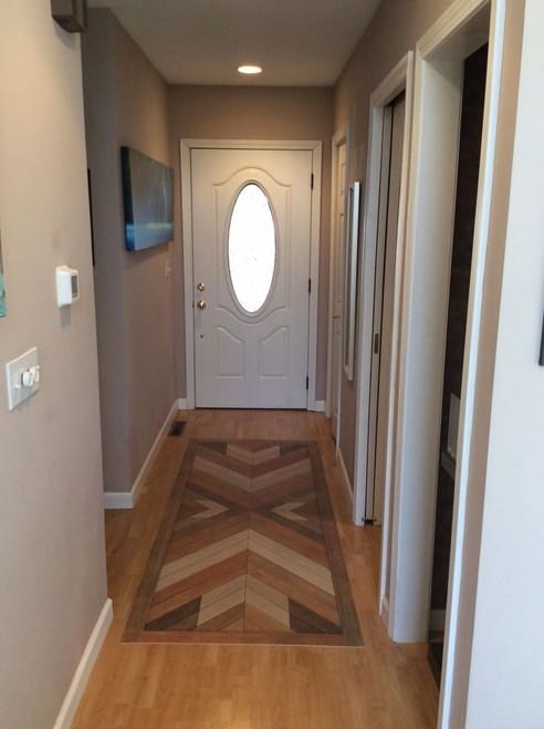 Pura Vida customer use of Rhapsody vinyl floor cloth