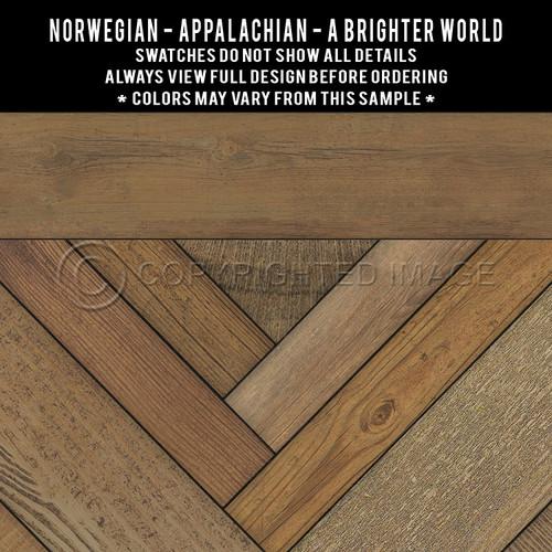Swatches for Appalachian - vinyl floor cloth