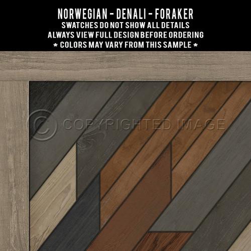Swatches for Denali - vinyl floor cloth