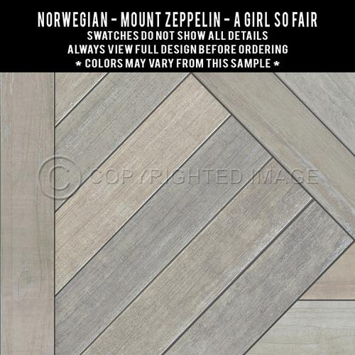 Swatches for Mount Zeppelin - vinyl floor cloth