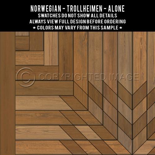 Swatches for Trollheimen - vinyl floor cloth