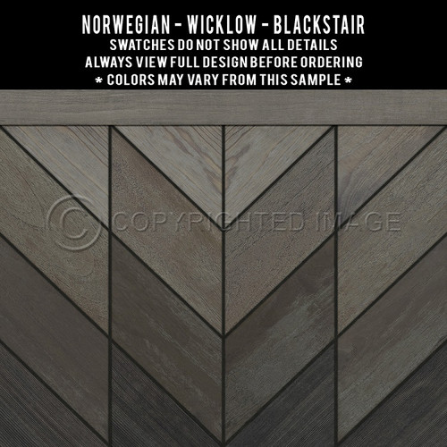 Swatches for Wicklow - vinyl floor cloth