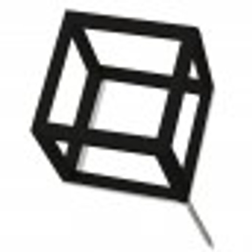 Wall Play Cubical black (set of 10)