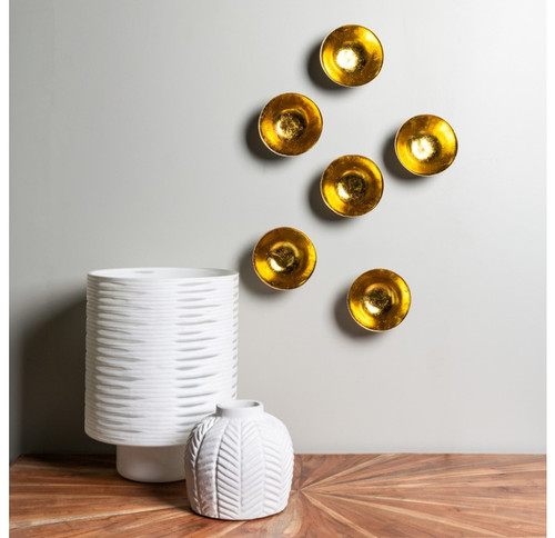 Wall Play Full Moon gold leaf (set of 12)